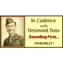 IN CADENCE WITH DESMOND DOSS - STANDING FIRM!